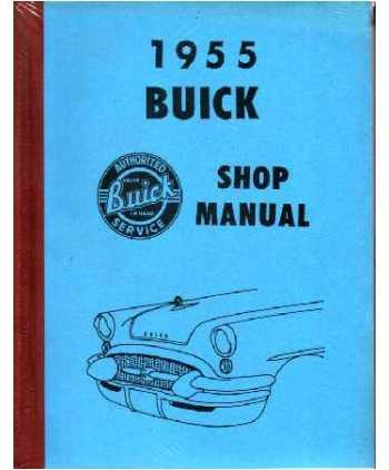 tat buick factory electronic service repair manuals rh 4door com 1955 Buick Special 1956 Buick Special