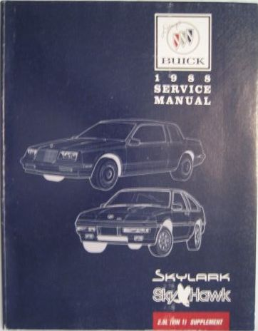 tat buick factory paper service repair manuals rh 4door com 1986 Buick Regal 1984 Buick Regal