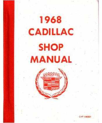 1961 CADILLAC  SHOP//BODY //PARTS MANUAL ON CD