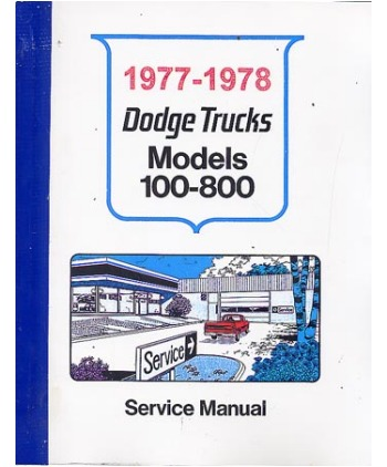 taylor automotive tech-line dodge and plymouth truck factory shop, Wiring diagram