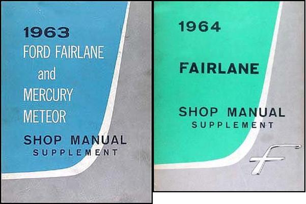 taylor automotive tech line factory ford and mercury car shop rh 4door com 1960 Ford Fairlane 1968 Ford Fairlane