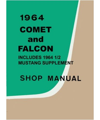 taylor automotive tech line factory ford and mercury car shop rh 4door com 64 Comet Cyclone Jack Chrisman 64 Comet
