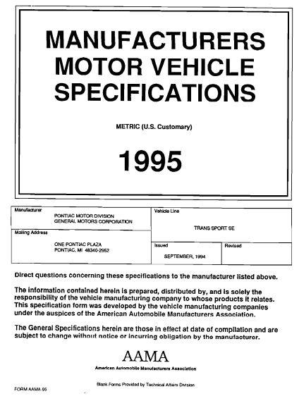 pontiac aztek repair manual pdf