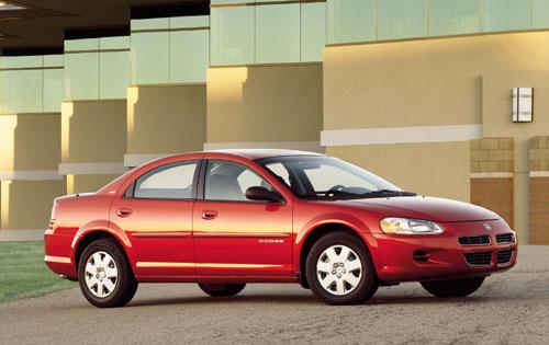 Taylor Automotive Tech Line 1998 Dodge Stratus MVMA Specifications